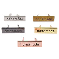 10Pcs Metal Labels Tags Handmade Clothing Shoes Bag Sewing Craft Accessories DIY