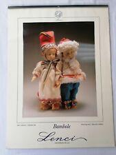 CALENDARIO LENCI 1995 CALENDAR Calendrier Kalender 日曆
