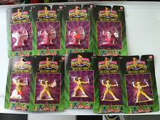 Mighty Morphin Power Rangers Collectible Figures Bandai 1993 - 9 Total / ???