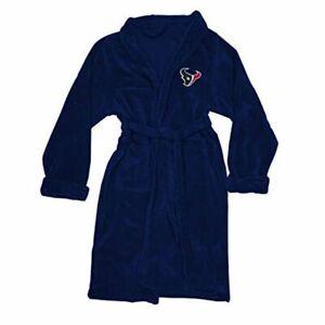 NFL Houston Texans Silk Touch Bathrobe size Large / XL New