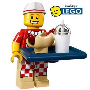 Lego Minifigures 71018 Series 17 - #6 Sausage Man Sealed Minifigures
