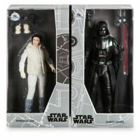 Darth Vader and Princess Leia Star Wars Doll Set Disney Store 2017 D23 Expo LE