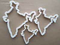 Jamaica Country Map Shape Cookie Cutter Dough Biscuit Pastry Fondant Sharp
