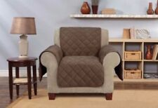 Oversized Microfleece Recliner Furniture Cover brown