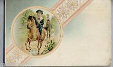 Bambini a Cavallo Liberty PC Circa 1900
