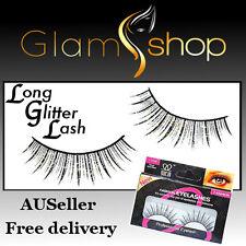 FALSE EYELASHES Reusable fake eyelashes strip lashes with glue FREE POSTAGE!
