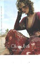 PUBLICITE ADVERTISING 2004  OLIVIER STRELLI pret à porter vetements
