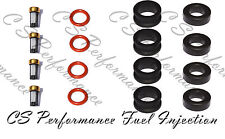 Fuel Injector Repair Service Kit  O-Rings Seals Filters 90-92 1.6 I4  CSKDE64
