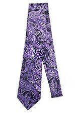 Geoffrey Beene A Floral Paisley Silk Tie Necktie- NWT