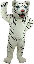 White Tiger Professional Quality Lightweight Mascot Costume Adult Size