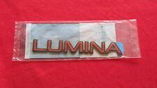 "NEW OEM Red Chevy ""LUMINA"" Nameplate Emblem Badge 10120232"