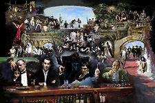 SCARFACE, GODFATHER, GOODFELLAS, SOPRANOS,RAT PACK, STAR WARS, James Gandolfini
