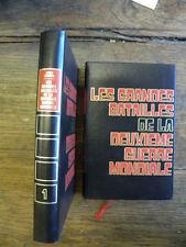 Les grandes batailles de la deuxième guerre mondiale / Louis Garros 2 tomes