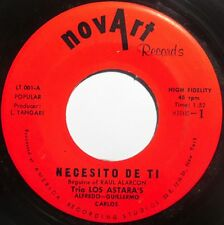 LOS ASTARA'S TRIO ~ NOVART LATIN 45 ~ SUPER RARE TANGO salsa HEAR IT!