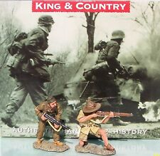 KING & COUNTRY BRITISH 8TH ARMY EA020 THE ATTACKERS MIB