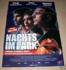 Filmposter A1 Neu Nachts im Park - Heike Makatsch