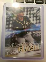 2019-20 TOPPS CHROME FRESHMAN FLASH ROOKIE CARD *JESUS LUZARDO OAKLAND ATHLETICS