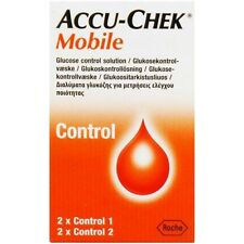 Accu-Chek Mobile Control Solutions x 4