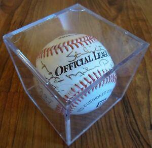 Signed Chicago Baseball-Ditka, Banks, Mikita, Williams, Blanda, Harbaugh, Pafko