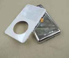 White Front Faceplate Metal Back Housing Case Cover for iPod 5th Video 80GB
