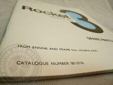 Genuine Spare Parts List - BSA Rocket 3 MK1 A75 1969/70