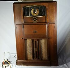 Vintage Zenith Floor Radio model 12H689 Tube Audio RARE Local Pickup ONLY