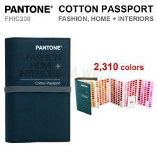 Pantone FHIC200 FASHION, HOME + INTERIORS Cotton Passport 2,310 Colors - NEW!