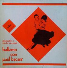 ORCHESTRA PAUL BACCARA' -Balliamo LP Michèle Sécher BOSSANOVA - LISCIO