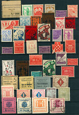 N430 SPAIN CIVIL WAR. COLLECTION LOCAL STAMPS.