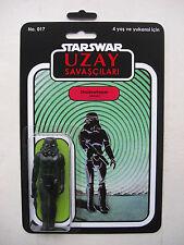 Retro Star Wars Stormtrooper Shadowtrooper Custom Uzay savascilari Bootleg MOC