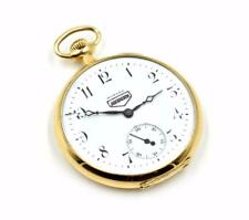Vintage Solid 14k Yellow Gold E. Howard Auburn Pocket Watch