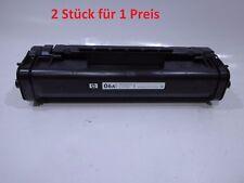 2x orig. HP 06A HP C3906A 2.500 Seiten f. Laserjet 5L/6L/3100/3150 # B330-A4