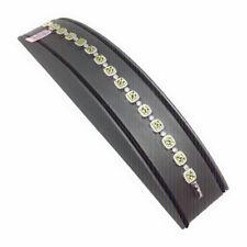 Designer Citrine W/ White CZ Ladies Real 925 Sterling Silver Ladies Bracelet New