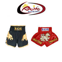 Raja Muay Thai Kick Boxing Satin Shorts S M L XL 3L XXL