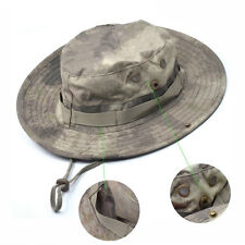 Bucket Hat Hunting Fishing Hot Camo Military Outdoor New Wide Brim Boonie Cap US