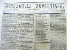1849 newspaper The ROLE & PLACE of WOMEN inThe CALIFORNIA GOLD RUSH is DESCRIBED