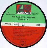 The Manhattan Transfer - Coming Out (LP, Album,  Vinyl Schallplatte - 128250