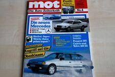1) MOT 04/1986 - Volvo 480 ES mit 109PS in eine - Ford Scorpio 4x4 mit 150PS in