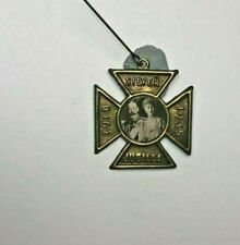 King George V Silver jubilee Medal Cross Design Pressed Tin with Pin