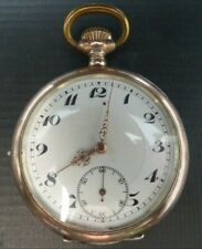 Pocket Watch Antique 0.800 Silver