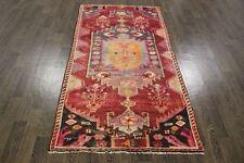 VINTAGE Tradizionale Persiano Lana 3,4 x 6,6 A Mano Tappeti Oriental Rug Carpet