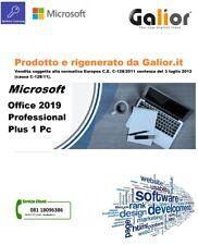 Da Galior.it Office2019 Professional Plus - dismesso