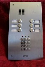 SRS 6 Button Intercom Panel - With Number Entry Keypad - PANEL ONLY