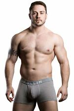 """Pull In Shorty Cotton Neo Grey Chine Boxer Lettre (xs/28-30"""") RRP £ 19"""