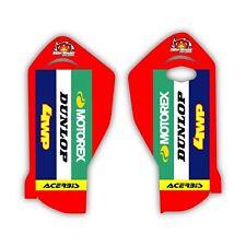Fits: Gas Gas MC EC MC250F MC450F Factory Fork Guard Motocross Graphics 005