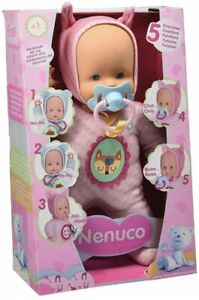 Nenuco of Famosa- Doll Toy 5 Functions, Colour Pink (700014781)