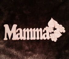 wooden plaque Mamma Word 3 Mm Thick Mdf Shape Blank. Mothers Day Gift