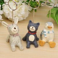 Resin Miniature Animals Bridge Garden Dollhouse Bonsai Pot Plant DIY Craft