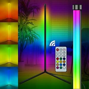 Dreamcolor LED Corner Floor Lamp RGB Modern 50cm Living Room Lighting Dimmable
