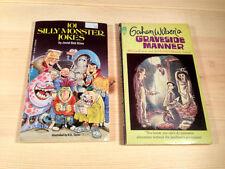 Rare! Gahan Wilson's Graveside Manner + Bonus Silly Monster Jokes by R.L. Stine